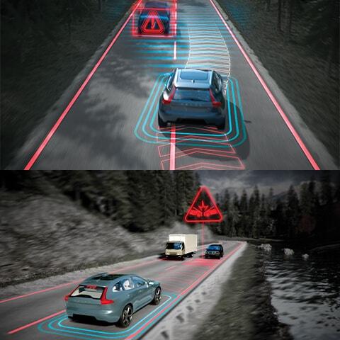 对向车辆智能避让